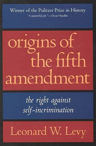 Image of Origins of the Fifth Amendment