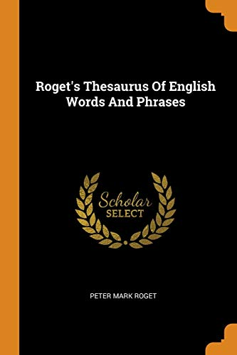 Image of Thesaurus of English Words and Phrases