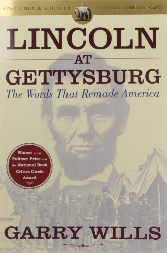 Image of Lincoln at Gettysburg