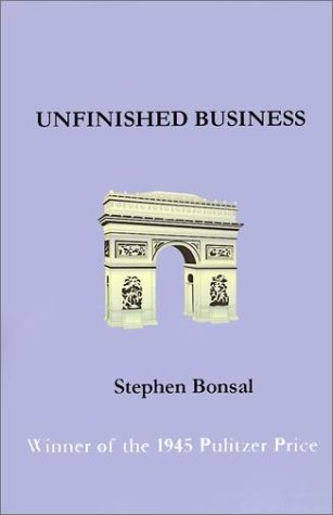 Image of Unfinished Business