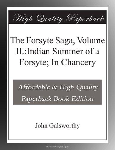 Image of Indian Summer of a Forsyte