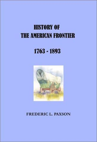 Image of History of the American Frontier
