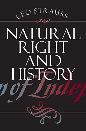 Image of Natural Right and History